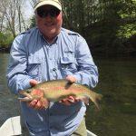 Watauga River, TN rainbow