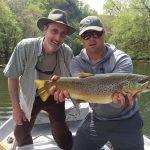 Watauga River, TN brown trout