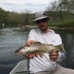 Watauga River, TN Dry Fly Rainbow