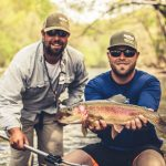 Watauga River, TN rainbow trout