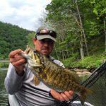 Nolichucky River, TN smallmouth bass