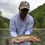 Nolichucky River, TN rainbow trout